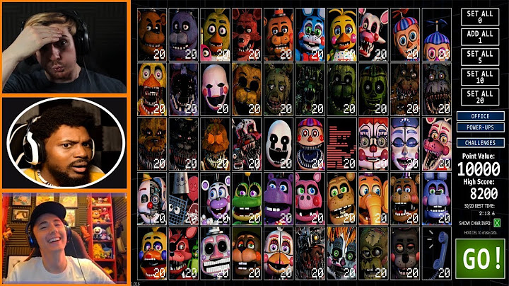 lets players reaction to trying 5020 mode for the first time  fnaf ultimate custom night