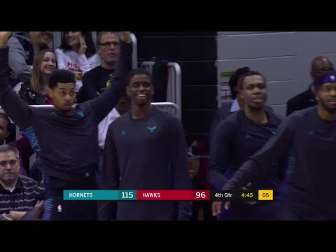 4th Quarter, One Box Video: Atlanta Hawks vs. Charlotte Hornets