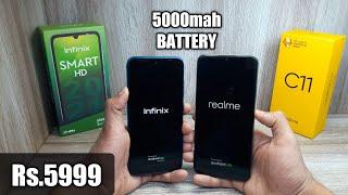 Infinix Smart HD 2021 vs Realme C11 - Which Should You Buy ?