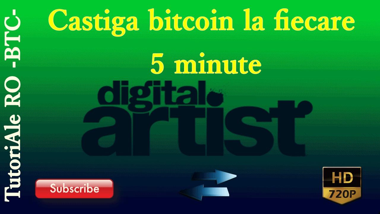 bitcoin în fiecare minut super sistem pe opțiuni binare