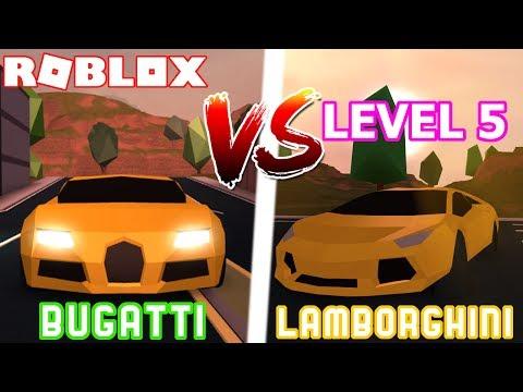 Can Lamborghini Beat The Bugatti In Jailbreak Roblox Jailbreak Engine Update