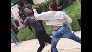 Girls fight over boy !