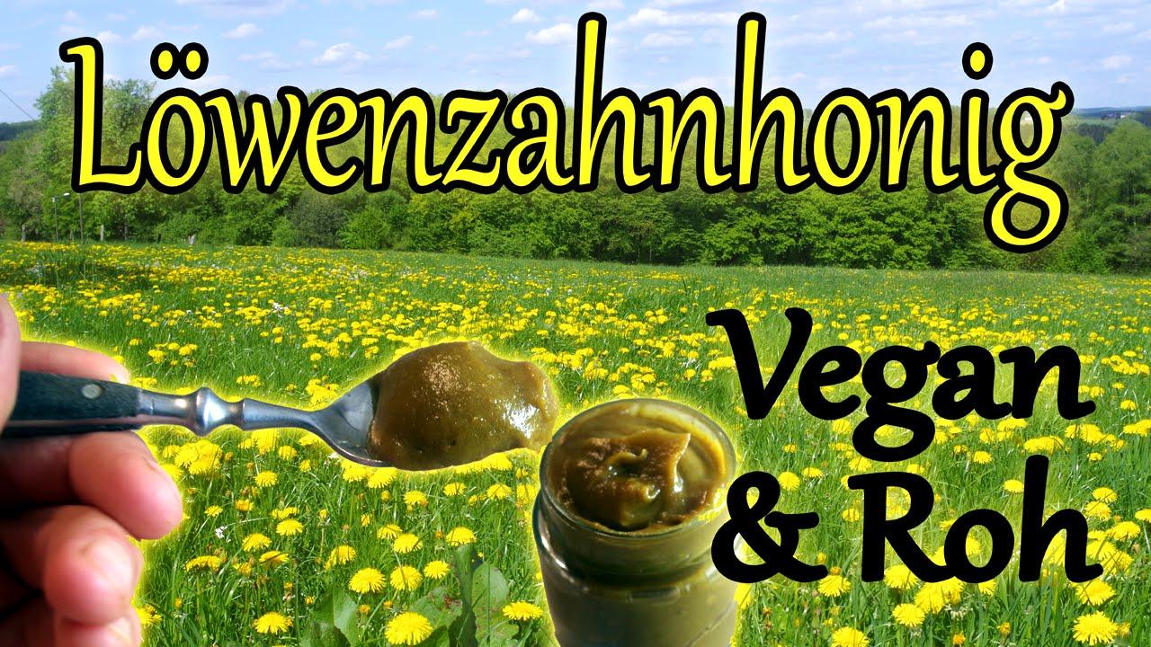 Vegan + Rohkost: Löwenzahn Honig selber machen (Löwenzahnsirup + Vitamix Zerstörung)