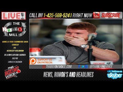 Canelo vs Golovkin vs Saunders: Three's Company, De La Hoya's a Crowd