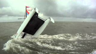 Sirena Voile / Catamaran Topaz 14 / Capsize - Dessalage / La Baule
