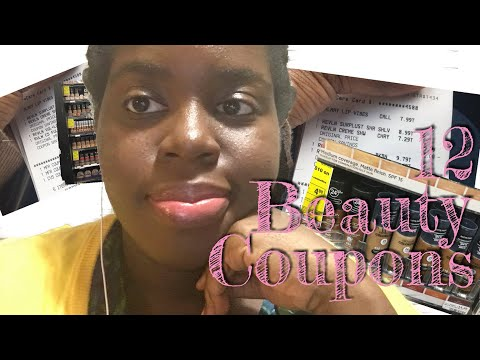 12 Beauty Coupons