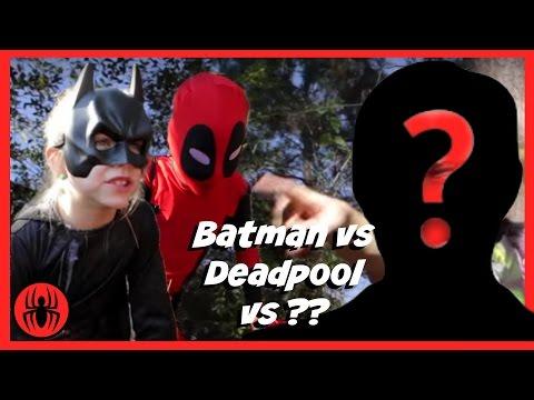 Batman vs Kid Deadpool vs ?? Superheroes in Real Life Movie | SuperHero Kids