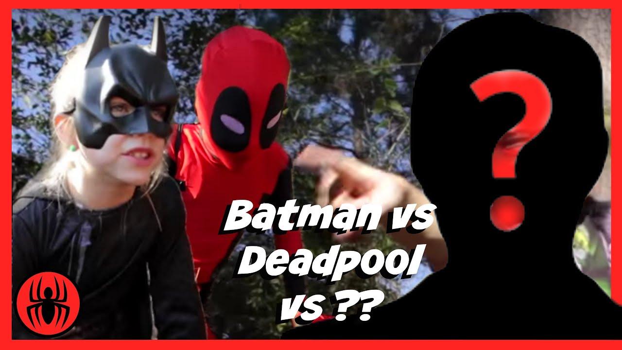 Deadpool 30 Superhéroes: Batman Vs Kid Deadpool Vs ?? Superheroes In Real Life