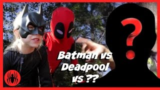 Batman vs Kid Deadpool vs ?? Superheroes in Real Life Movie | SuperHero Kids