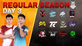 Free Fire Pro League Season 3 : Regular Season Day 3
