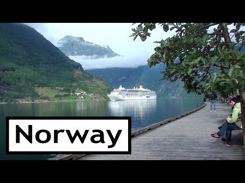 Norway Fjords and Waterfalls