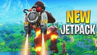 NEW FORTNITE JETPACK!! (Fortnite: Battle Royale INSANE Gameplay) *Coming Soon*