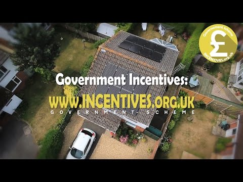 Get Solar Panels Government Incentives for your home