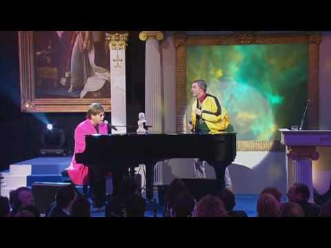Alan Partridge and Elton John Duet