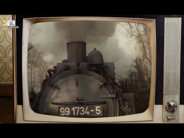 Ansichtskarte: Mit der Schmalspurbahn ins Fernsehjahr 1984