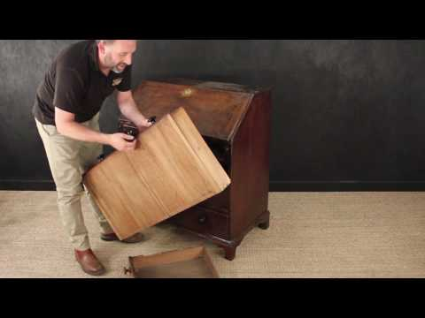How To Restore Antique Furniture - Assessing A George III Bureau for Restoration