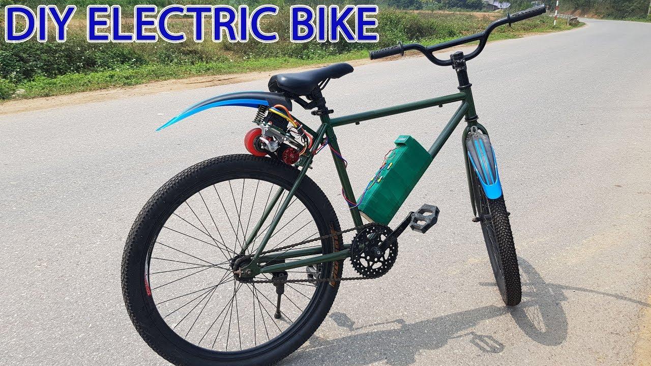 diy electric bike at home youtube. Black Bedroom Furniture Sets. Home Design Ideas