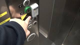 Kone EcoDisc Elevator At The Newry Train Station - nathanandrews100