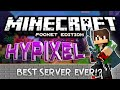MCPE BEST SERVER EVER!!! - MY MIND IS BLOWN! - Hypixel PE w/ IP | Minecraft Pocket Edition