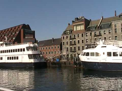 Long Wharf Boston & The Marriott Hotel