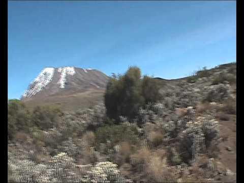 Monte Kilimanjaro - primeras imágenes
