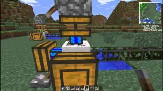 MineCraft Часть #1 постройка безопасной автономной помпы