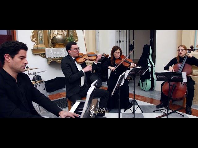 🎻 Coldplay the Scientist | Orquestas en Murcia | Musica para Bodas | Musical Mastia