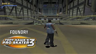 Video Tony Hawk's Pro Skater 3 (PS2) - Foundry - 100% GOALS, STATS AND DECKS download MP3, 3GP, MP4, WEBM, AVI, FLV Juli 2018