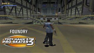 Video Tony Hawk's Pro Skater 3 (PS2) - Foundry - 100% GOALS, STATS AND DECKS download MP3, 3GP, MP4, WEBM, AVI, FLV April 2018