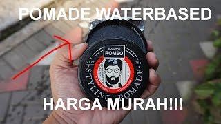 [ Reupload ] Review Pomade Waterbased Murah