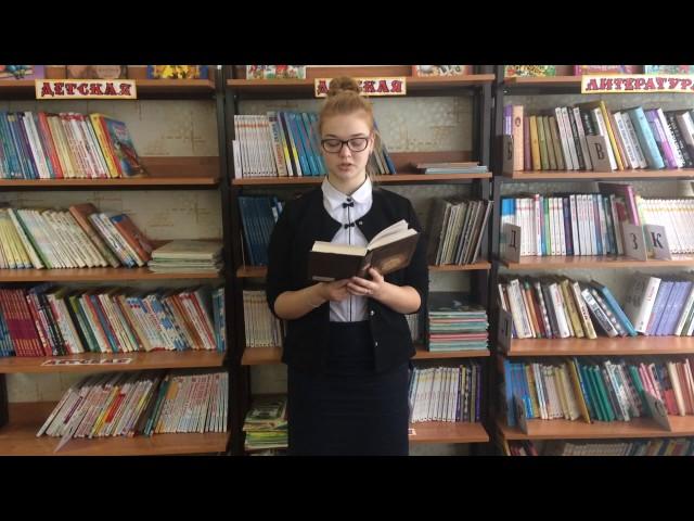 Изображение предпросмотра прочтения – ГалинаВойтенко читает произведение «Родной язык» В.Я.Брюсова