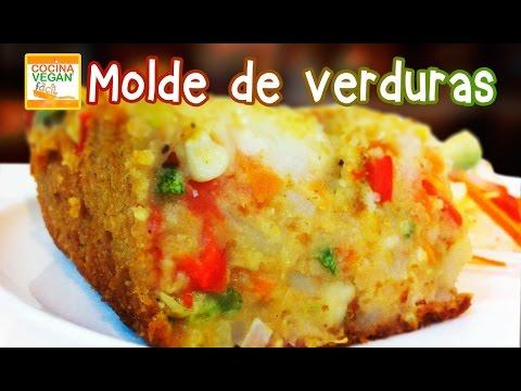 Molde de verduras - Cocina Vegan Fácil