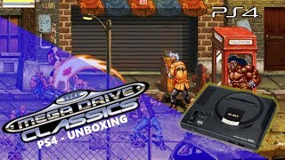 Sega Mega Drive Collection   PS4 Unboxing   Includes Double Sided Poster!