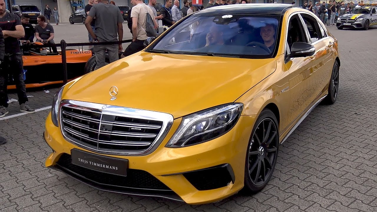 450 000 Mercedes Benz S65 Amg V12 Biturbo In Solarbeam Yellow