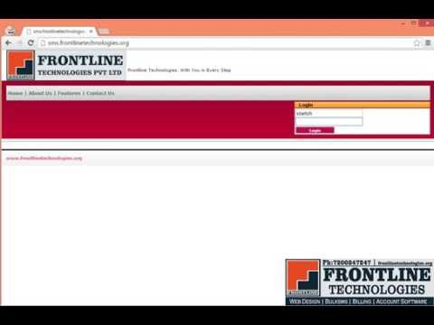 Frontline Bulk SMS Karur - How to send BulkSMS in Tamil
