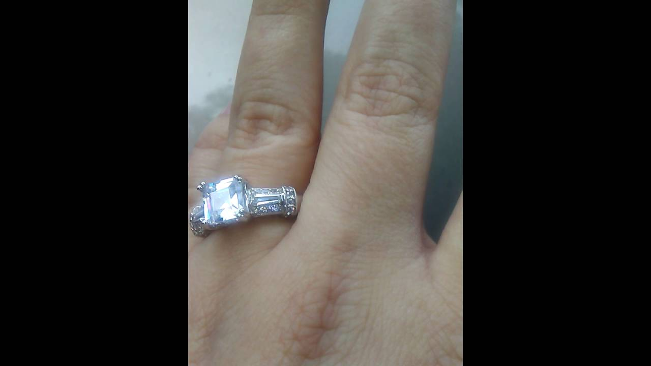 Berricle Or Bling Jewelry Cher Cut 3 4 Carat