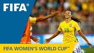 HIGHLIGHTS: Costa Rica v. Brazil - FIFA Women's World Cup 2015