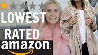 I BOUGHT THE LOWEST RATED ITEMS ON AMAZON