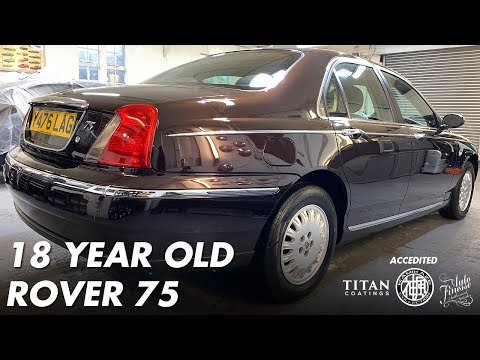 18 YEAR OLD ROVER 75 REVITALISED