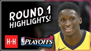 Victor Oladipo Full ROUND 1 Highlights vs Cleveland Cavaliers | All GAMES - 2018 Playoffs