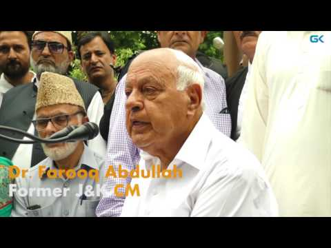 Farooq Abdullah 'apologises' to Indian people for Anantnag attack