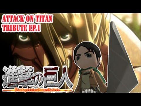 ภารกิจแบบทดสอบของเอเรน (ฆ่าไททัน 15ตัว) ;w; :Attack on Titan Tribute #1