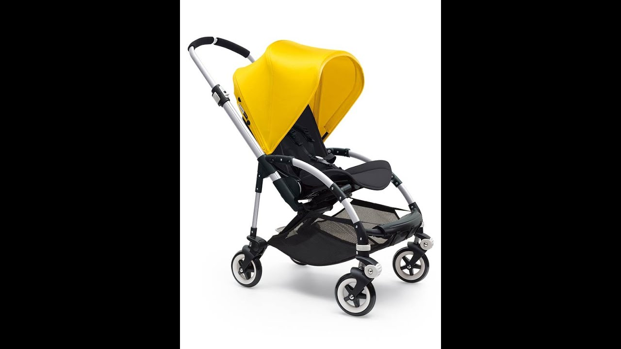 Bugaboo Pram Yellow How To Assemble And Operate Bugaboo Bee 3 Stroller Pram