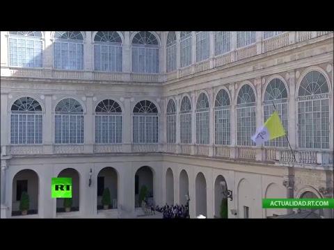 Donald Trump visita al papa Francisco en el Vaticano