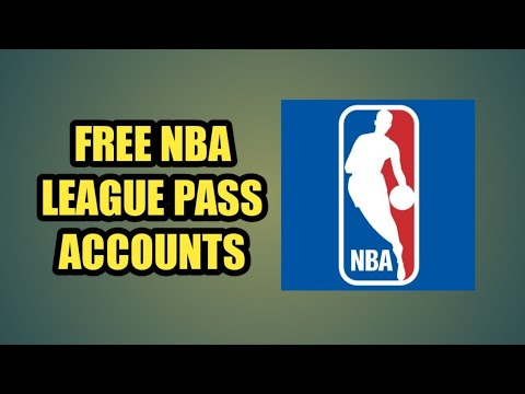 FREE NBA LEAGUE PASS ACCOUNTS MONTHLY