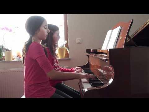 Eine Kleine Nachtmusik - Wolfgang Amadeus Mozart -  vierhändig