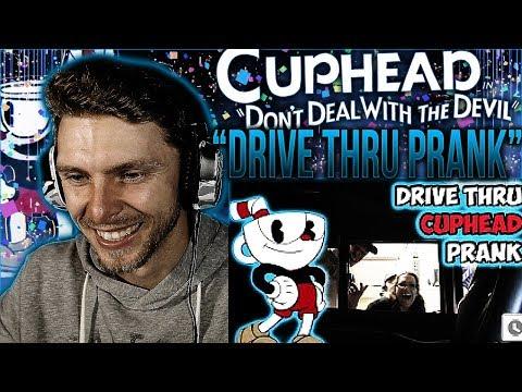 "Vapor Reacts #491 | [PRANK] FUNNY CUPHEAD PRANK ""Cuphead Drive Thru"" by MagicofRahat REACTION!!"