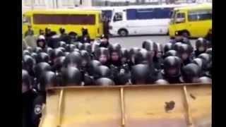 Штурм Администрации Президента Версия МВД