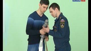 Добровольные пожарные Ельца прошли теоретическую подготовку
