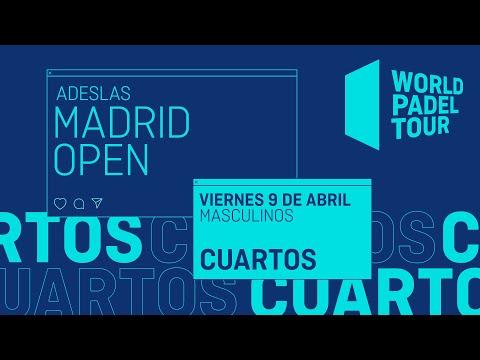 Cuartos de final Masculinos - Adeslas Madrid Open 2021 - World Padel Tour